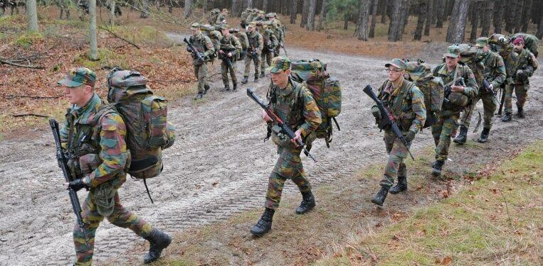Belgian Special Forces Group Selection phase