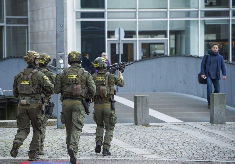 AKS SWAT politi Denmark police unit