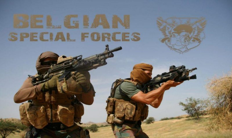 Belgian Special Forces Group - SFG special unit 5