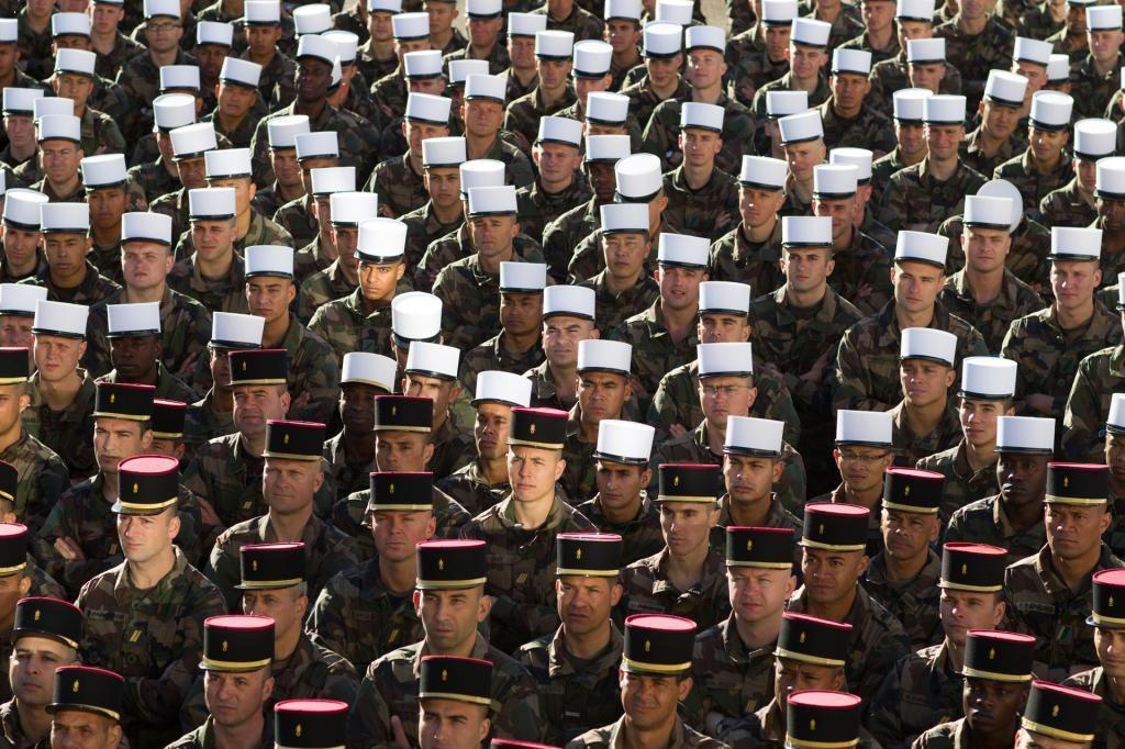 french foreign legion enlistment - RECRUITMENT
