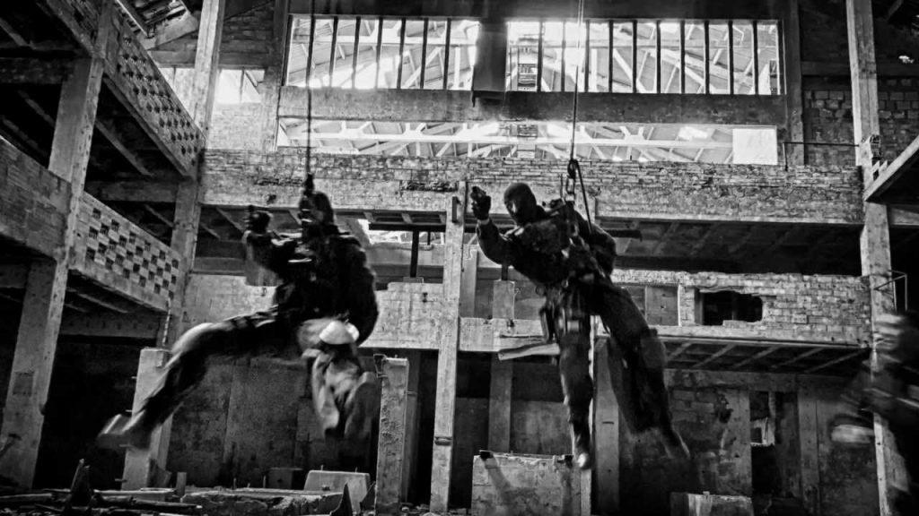 Grupo de Operações Especiais (GOE) Portugal doing tactical rope