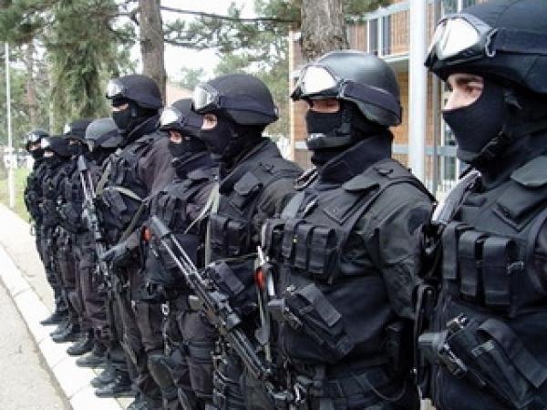 ROSU - intervention police from Kosovo
