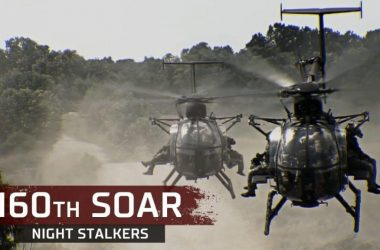 160th SOAR (A) flying small birds