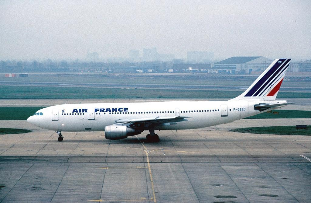 Hijacking of the Air France Flight 8969: Airbus A-300 with tail number F-GBEC