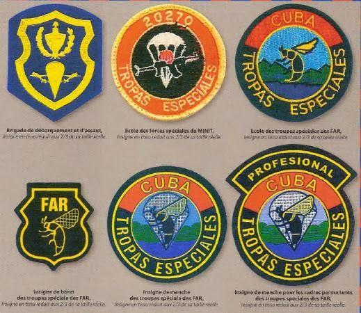 Black Wasps, Commando Tropas Especiales, Cuban special Forces, Insignia
