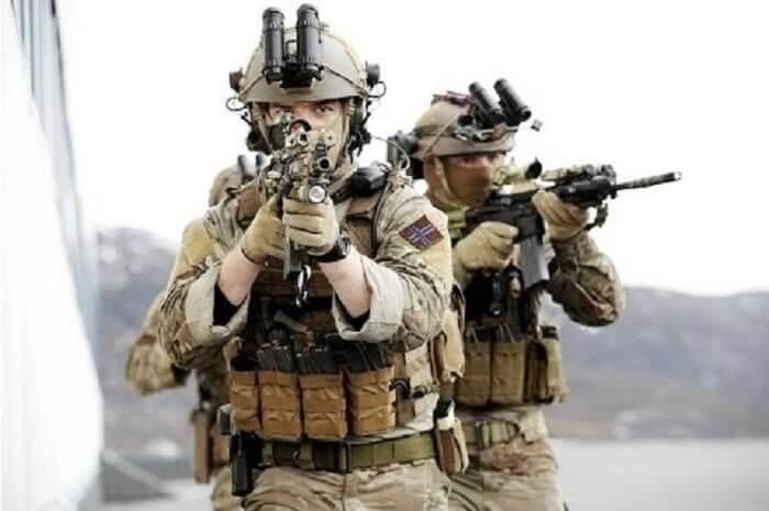 Operators of Marinejegerkommandoen (MJK), a Norway's prime SOF unit