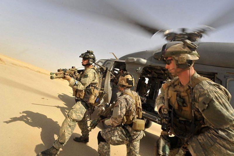 Task Force 121 and USAF PJs