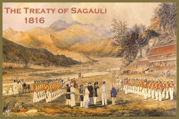 The Treaty of Sugauli -British East India Company and the King of Nepal