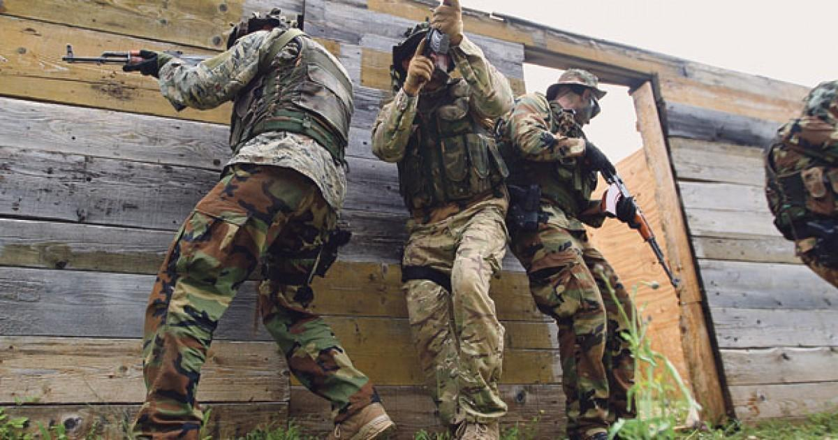 The candidates for Special Operations Battalion during the Commando selection