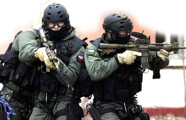 Special Operations Group Czech Military police