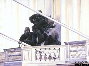 Operation NIMROD: Siege of Iranian embassy in London, 1980 John McAleese and his team on the balcony