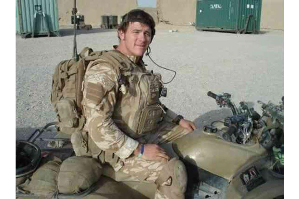 Sergeant Paul McAleese, son of famous British soldier and SAS hero John McAleese, killed on duty in Helmand province, Afghanistan