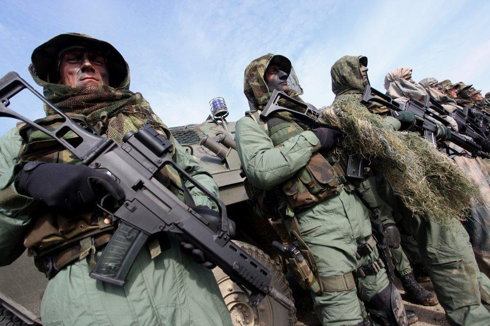 Special Operations Battalion from Croatia is armed with the modern Western weapons in the line with NATO standards