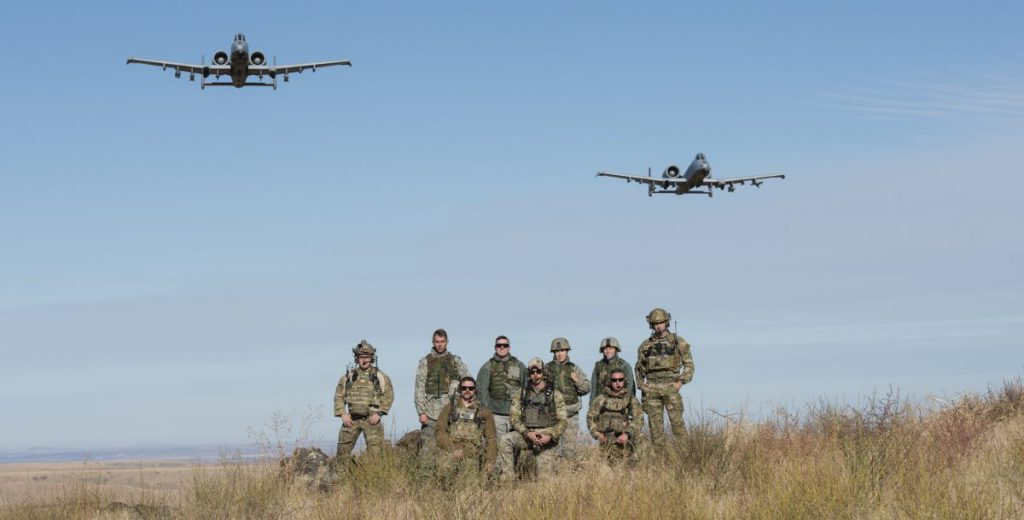 TACP operators with 124th Fighter Wing