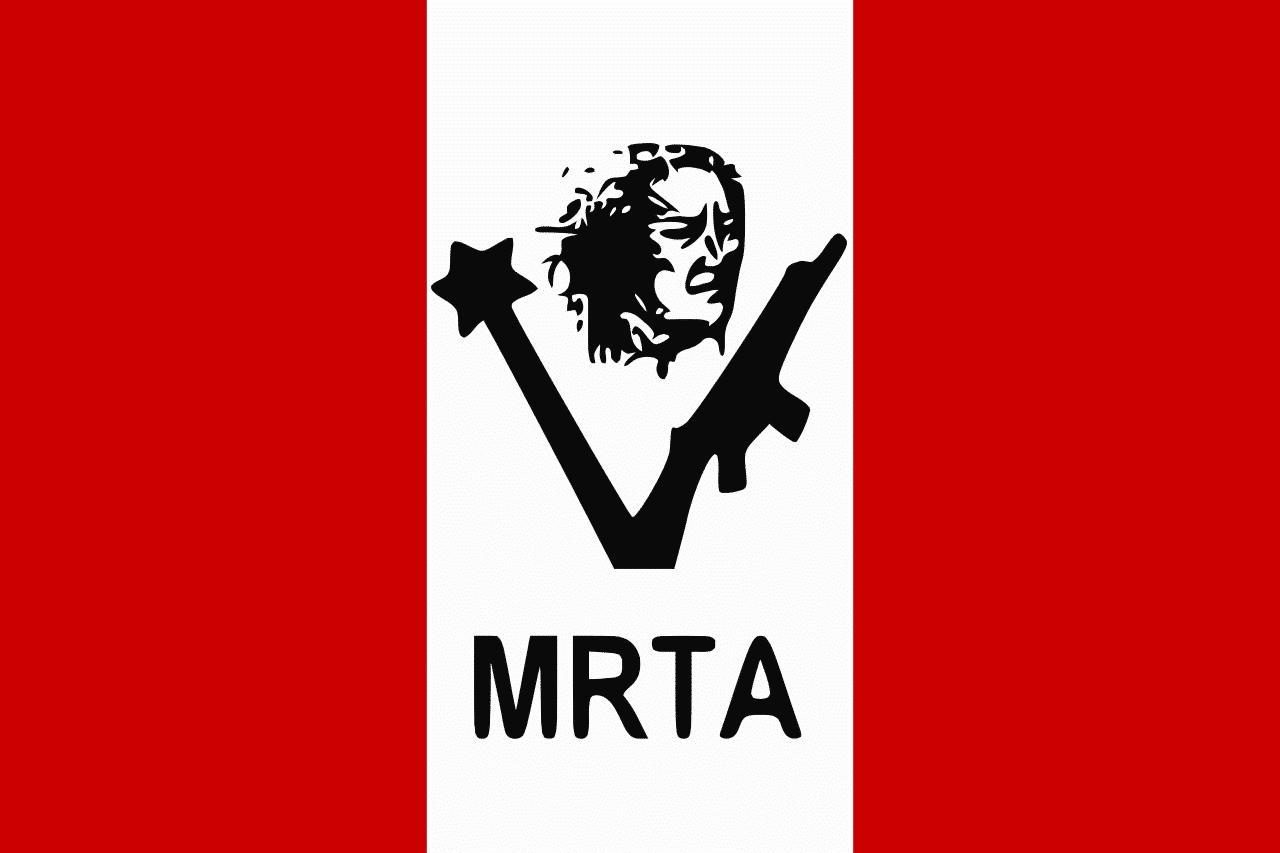 MRTA Terrorist organization flag