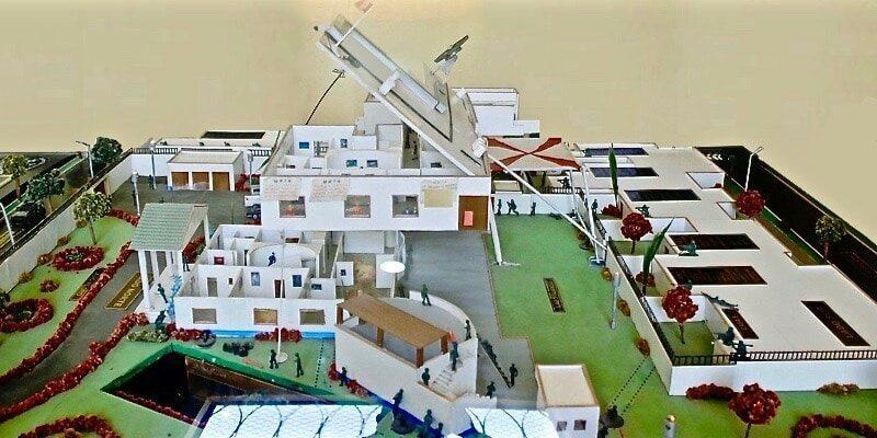 A model of Operation Chavín de Huántar presented during the 2013 commemoration of the operation