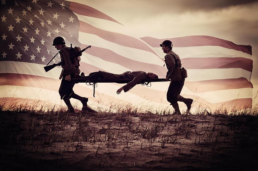 Real American heroes... Freedom isn't free!