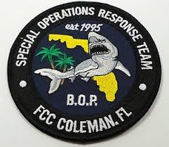 Federal Bureau of Prisons Special Operations Response Team Insignia