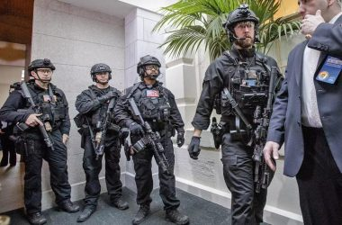 A tactical unit of the U.S. Secret Service