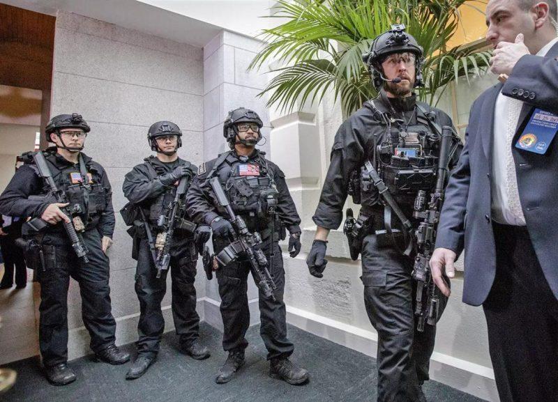 Us Secret Service Counter Assault Team Cat