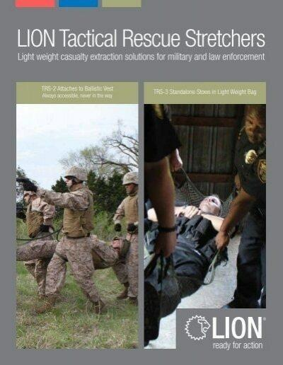 Lion Tactical Rescue Stretchers TRS-2