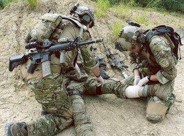 USAF Pararescue Jumbers (PJs) in action