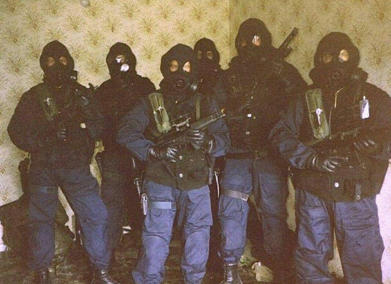 Operation Flavius: British SAS operators in the 1980s