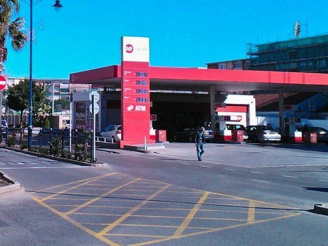 Gas station in Gibraltar where IRA members Daniel McCann and Mairéad Farrell were shot by the SAS as part of Operation Flavius in 1988
