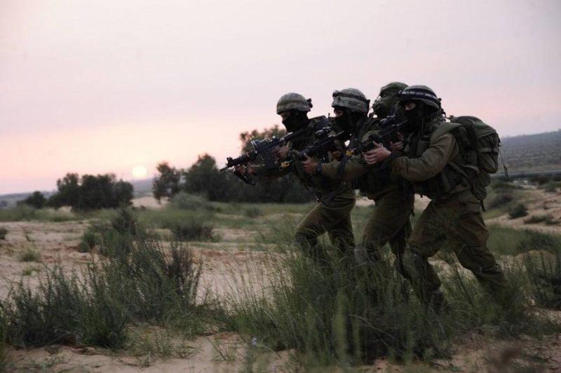 Sayeret Matkal operators training at undisclosed location