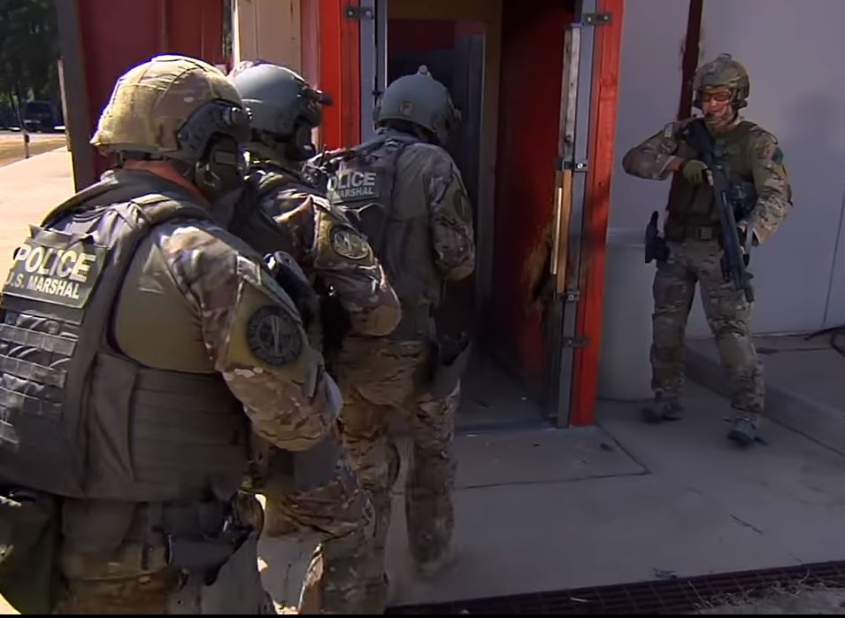 US Marshalls Service Special Operations Group