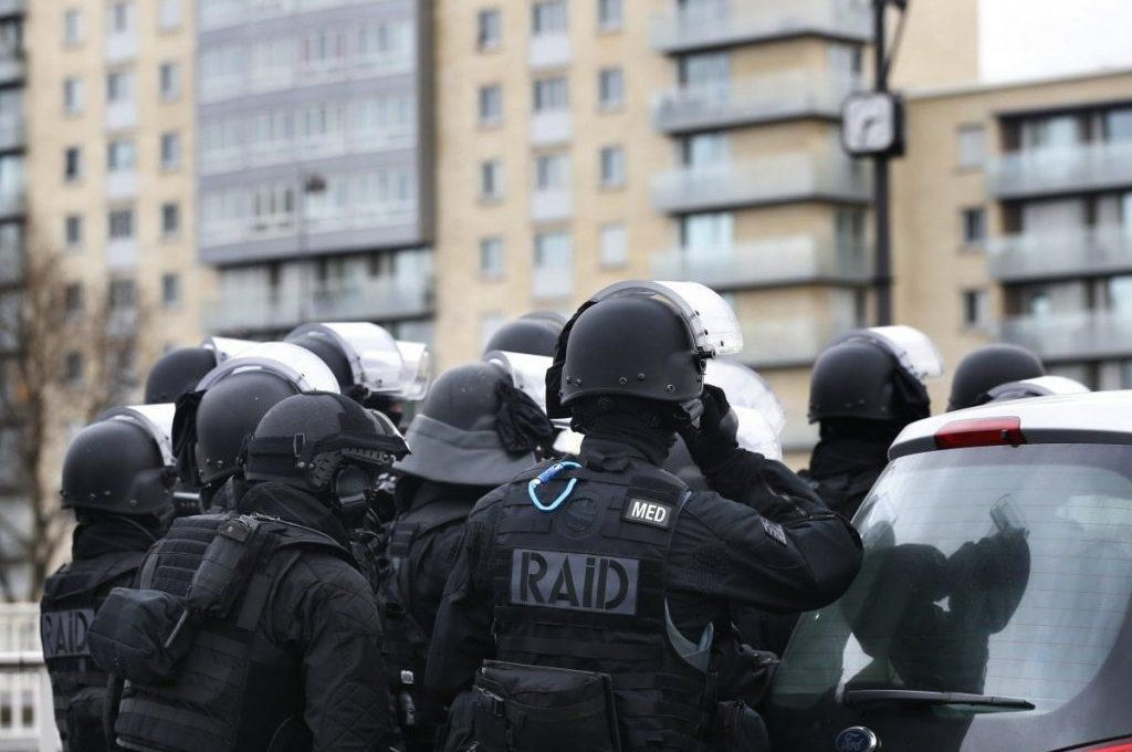 French Nationale Police RAID assault group (Counter-Terrorism unit)