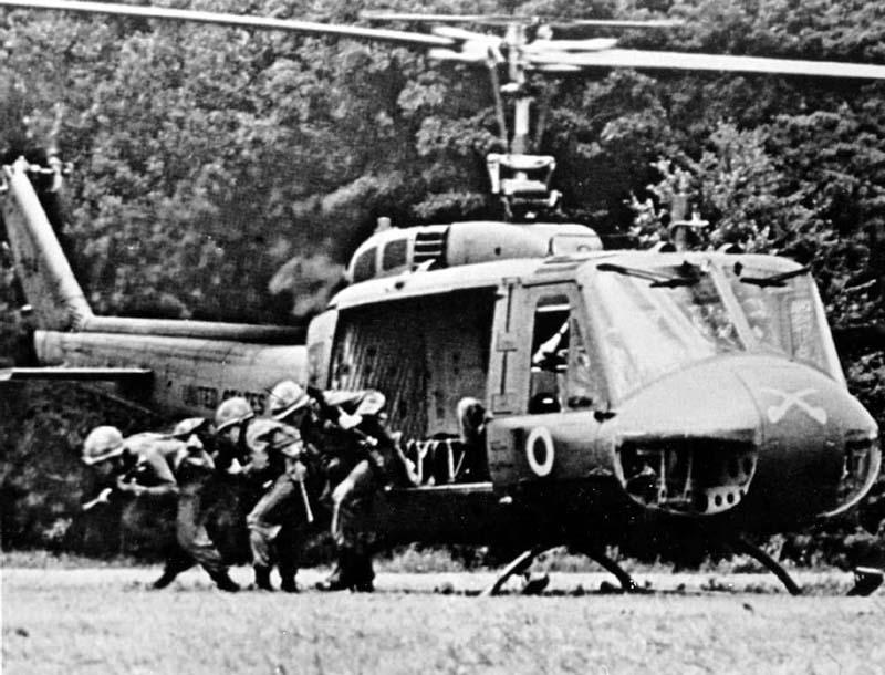 Vietnam-era MACV-SOG is a forerunner of the modern U.S. Army Special Forces (Green Berets)
