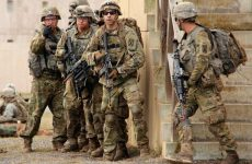 Soldiers from the 10th Mountain Division (Light Infantry) during their training