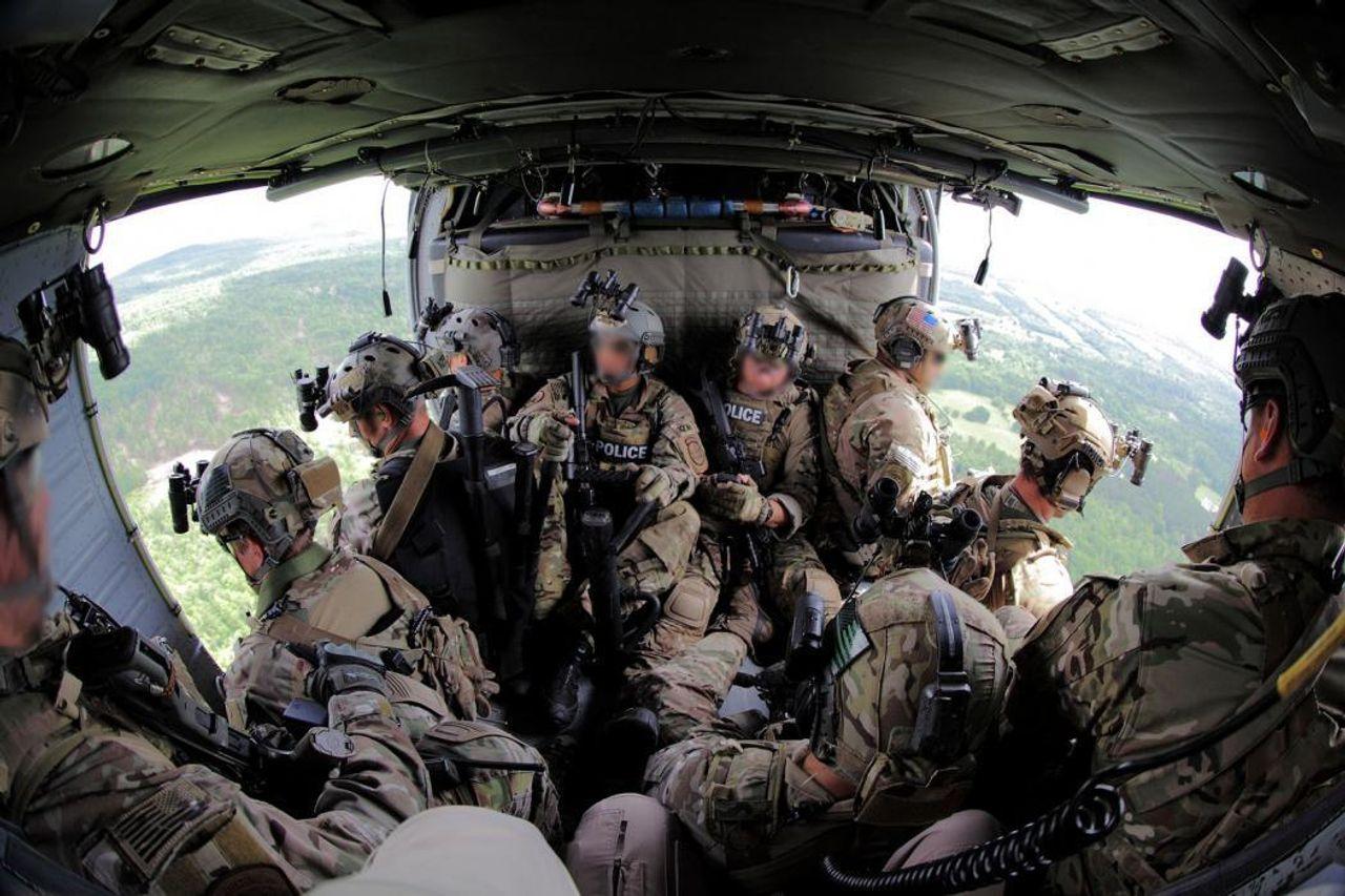 BORTAC an elite Tactical Unit of United Staes Border Patrol