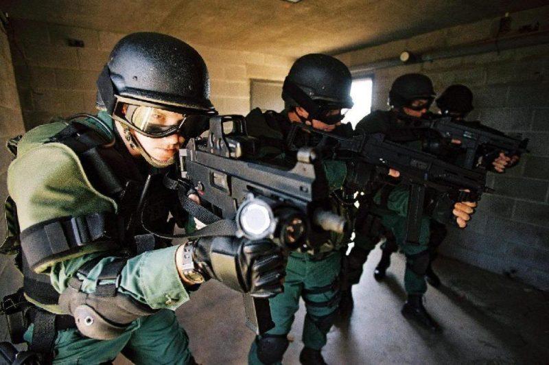 US Border Patrol Tactical Unit