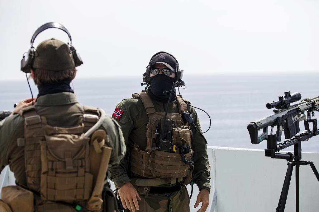 Members of Norwegian special forces