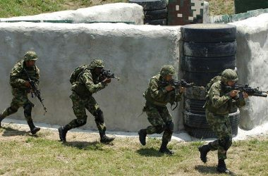 Members of AFEUR during the training