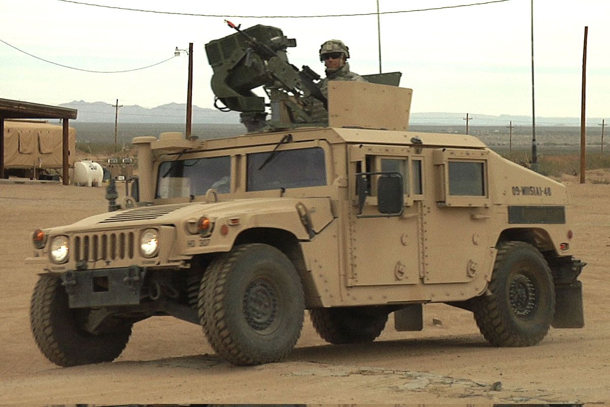 High Mobility Multipurpose Wheeled Vehicle (HMMWV)