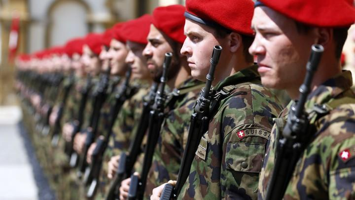 The Pontifical Swiss Guard recruits needs to have completed Swiss Army training