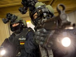 Members of the German GSG 9