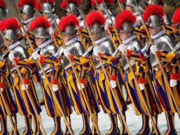 The Pontifical Swiss Guard: A close protection detail of the Holy See