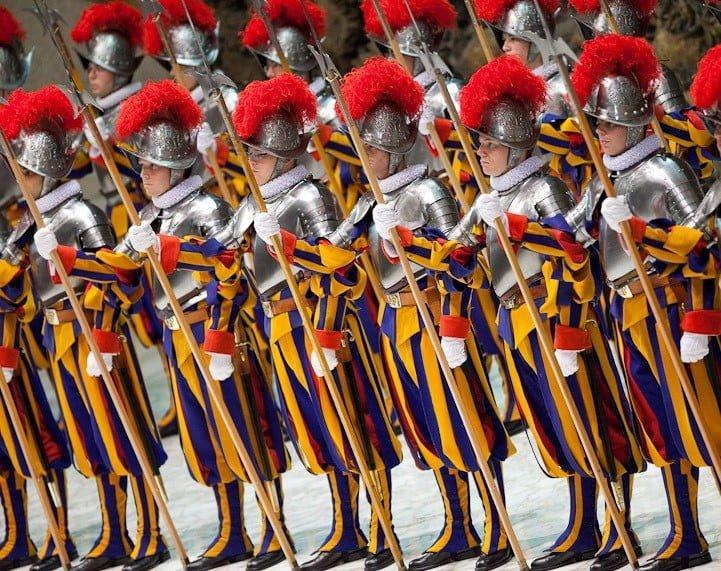 Swiss pontifical guard
