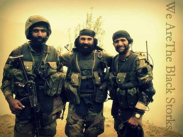 Members of Pakistan SSG