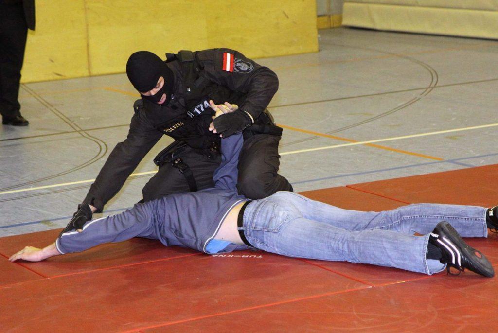 EKO Cobra hand-to-hand combat training