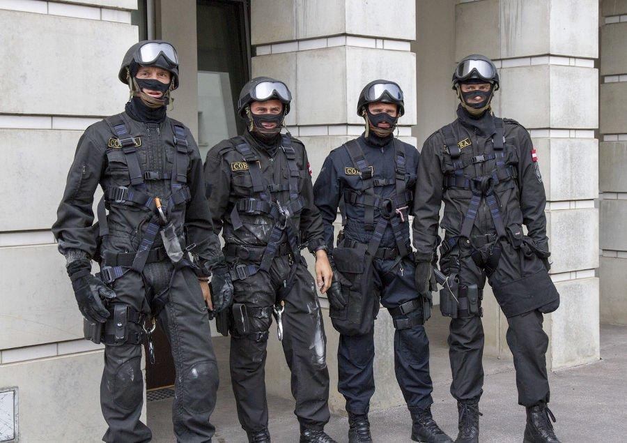 Operators of EKO Cobra, Austria in Graz