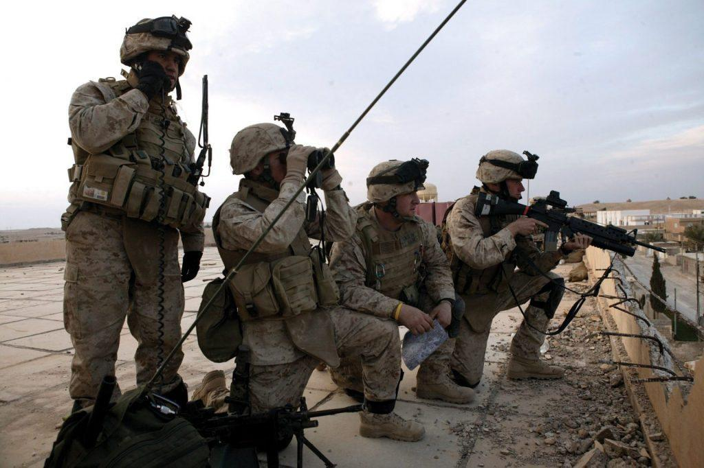 USMC Anglico Team in Iraq, River Blitz 11