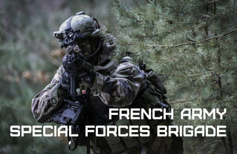 The elite French Army Special Forces Brigade - Brigade des Forces Speciales Terre (BSFT)