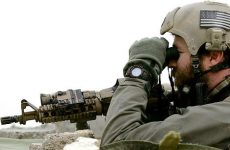 US Navy SEAL on the frontline