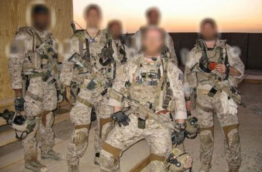 DEVGRU / SEAL Team 6 operators posing for photo during training
