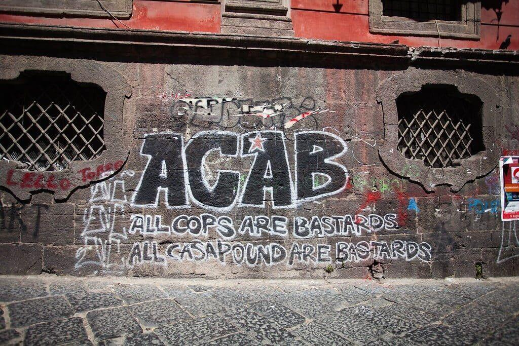 ACAB - All Cops Are Bastards graffiti